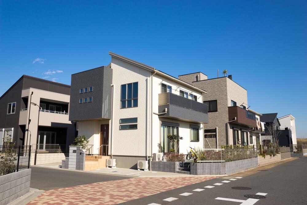 日本の閑静な住宅地風景