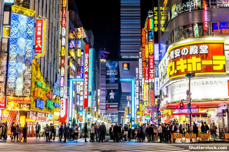 歌舞伎町の夜景