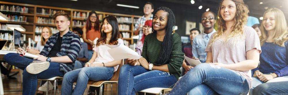 日本に留学へきている様々な国の留学生たち