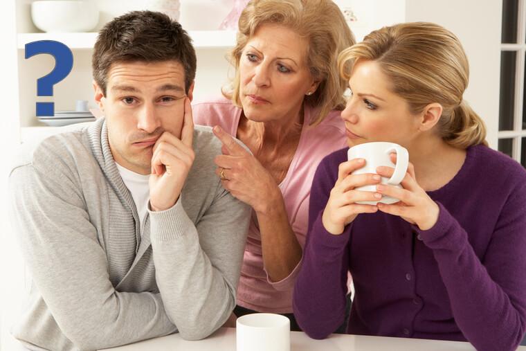 パートナー国の外国語は話せたほうが良い。義理のお母さんに話しかけられても、外国語が分からない男性