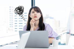 日本語力が低くて困っているアジア人女性