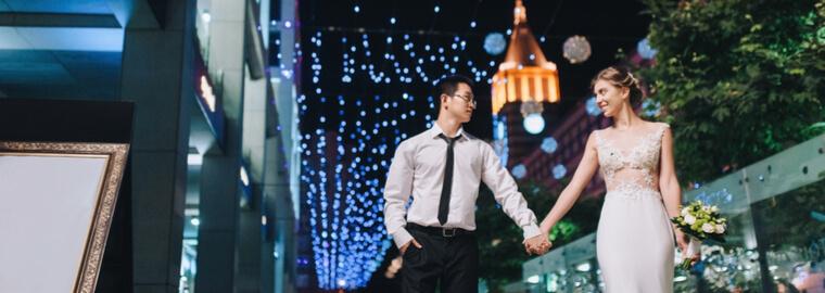 国際結婚をする日本人男性が増え、比率も増えた