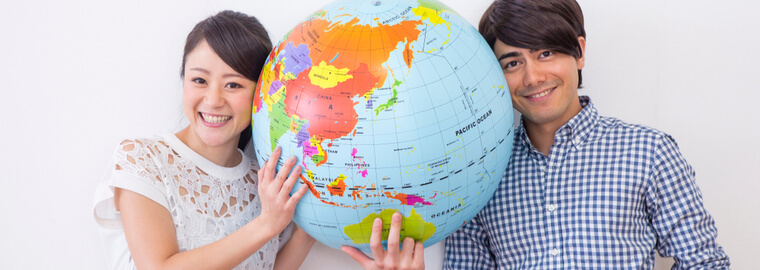 国際結婚した後、どこの国・どこの場所に住むのか?日本人女性と、外国人男性の国際結婚は、海外に住むケースが多い