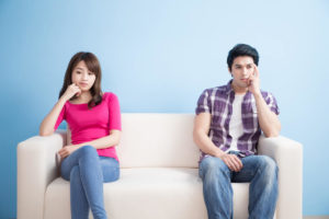 関係が冷え切った国際結婚夫婦
