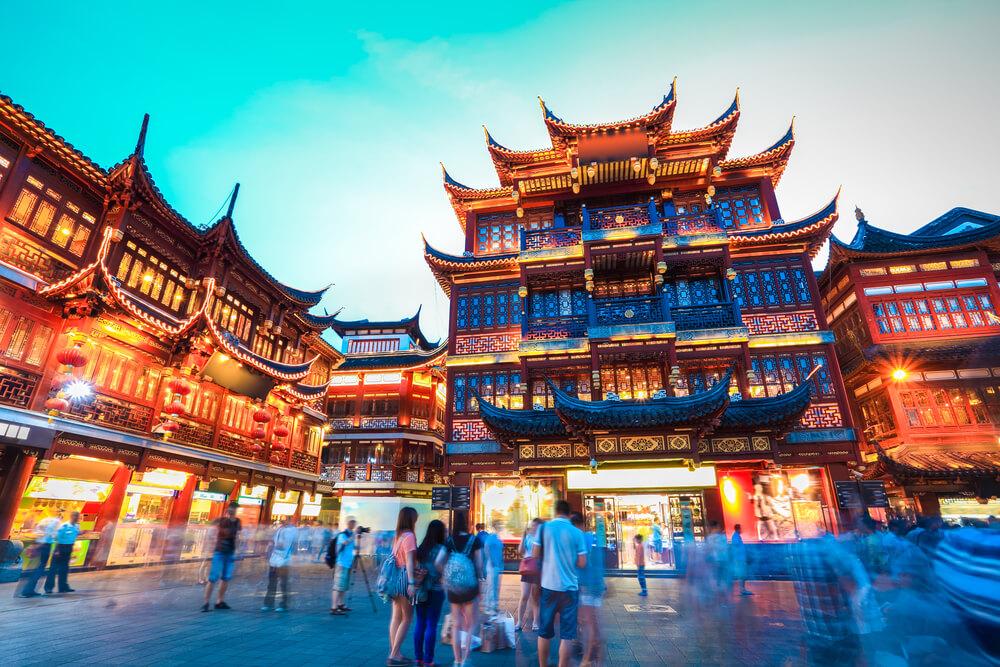 国際結婚に反対する両親を説得して連れて行った中国で見た建物