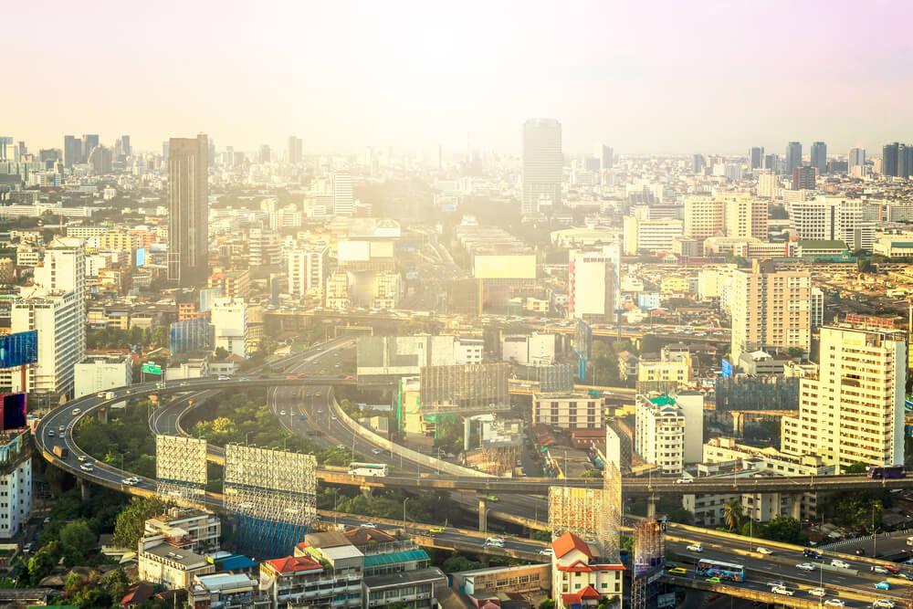 バブル期の日本の街並み